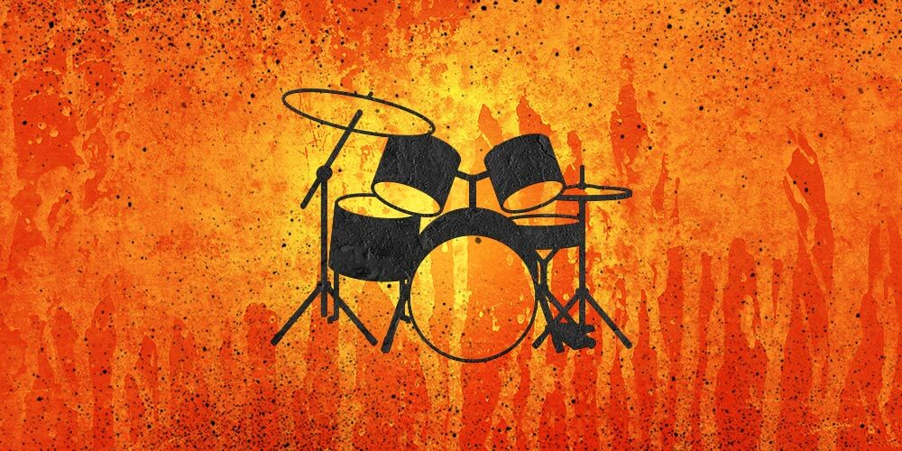 Drum-Set-orange